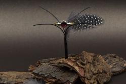 Geelgouden ring met een ovaal geslepen granaat